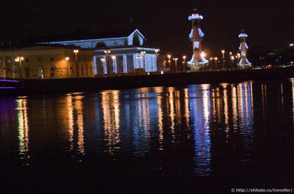 Стрелка Васильевского острова от Дворцового моста