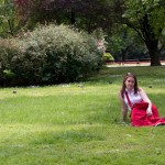 Катя и газон 2