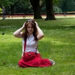 Катя и газон 3