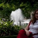 Катя и фонтан