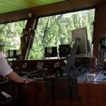 На кораблике, вид на капитанскую рубку, Wienn, Austria