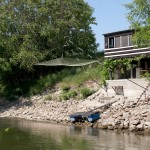 """""""Дачные"""" домики для ловли рыбы, Wienn, Austria"""