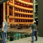 Вид зала со сцены