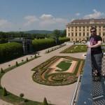 Дворец Шёнбрунн, сад наследного принца Рудольфа 6, смотровая площадка,  Wienn, Austria