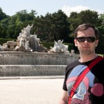 Дворец Шёнбрунн, фонтан, Wienn, Austria