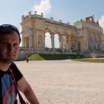 Дворец Шёнбрунн, наконец дошли до Глориетт, Wienn, Austria