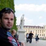 Дворец Шёнбрунн, вид на дворец 2, Wienn, Austria